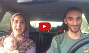 Couple Sings Acapella In The Car