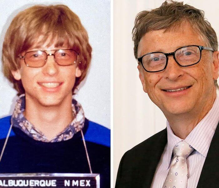 Bill Gates Before And After