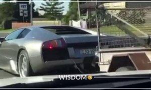 Lamborghini Pickup Truck