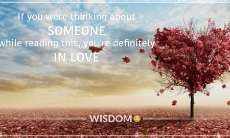 Love Thinking About Someone