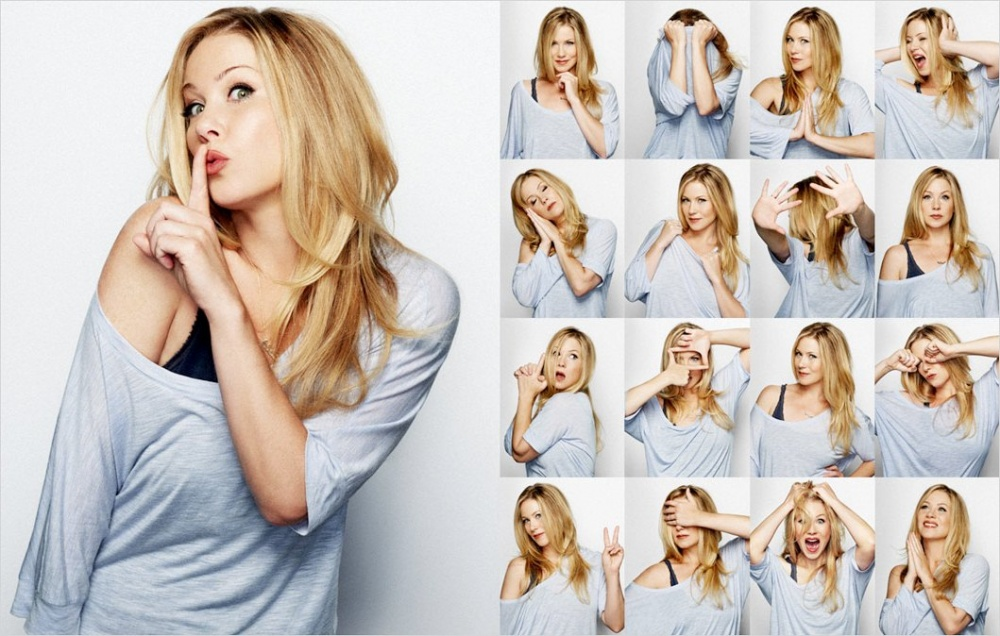 Christina Applegate Photo Booth