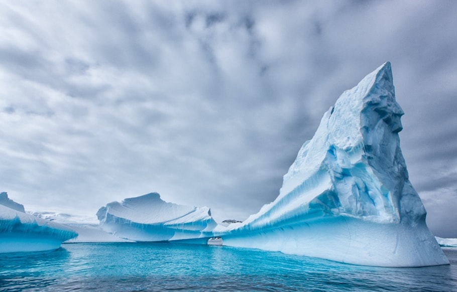 Glaciers Of Antarctica