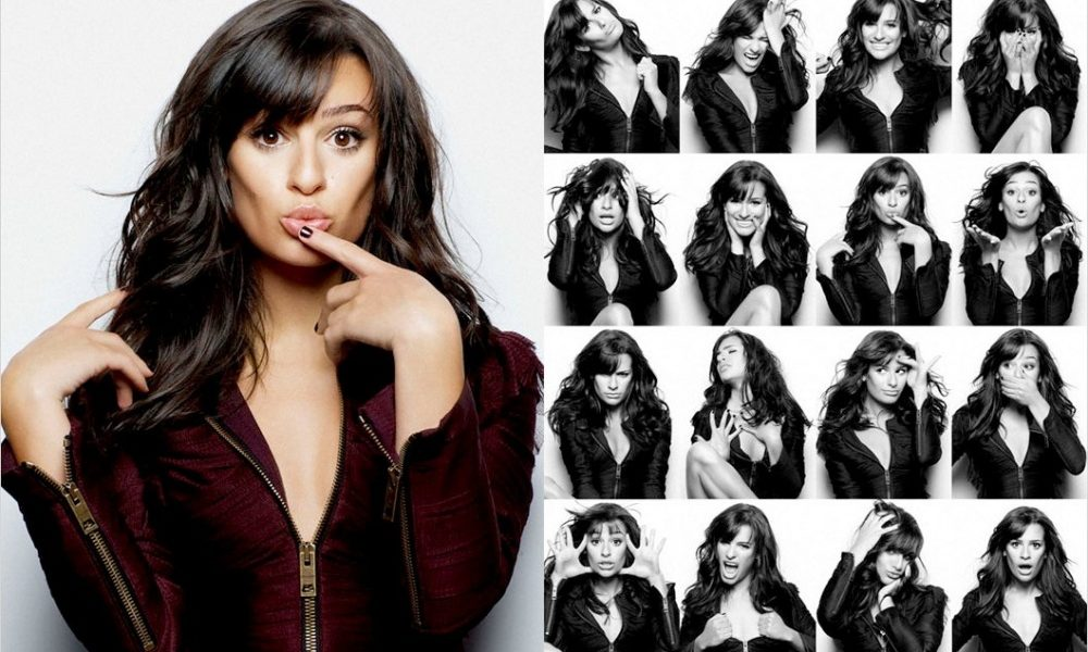 Lea Michele Photo Booth