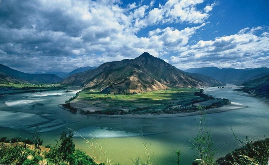 Rio Yangtzé, China