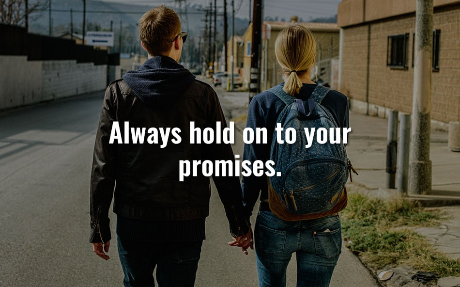 Always Hold On To Your Promises