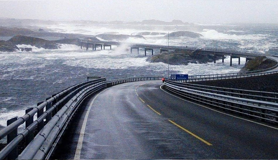 Atlantic Ocean Norvegia Road 4