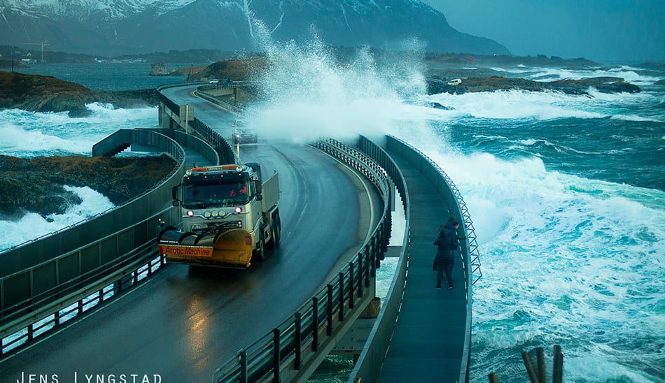 Atlantic Ocean Norvegia Road 5