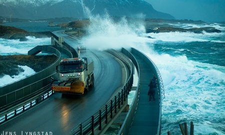 Atlantic Ocean Norvegia Road