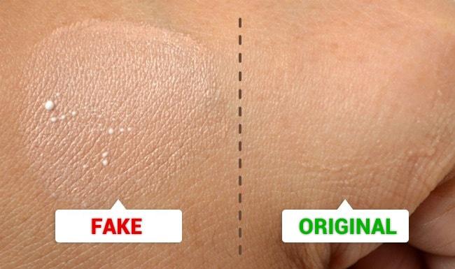 Cosmetics Test Application