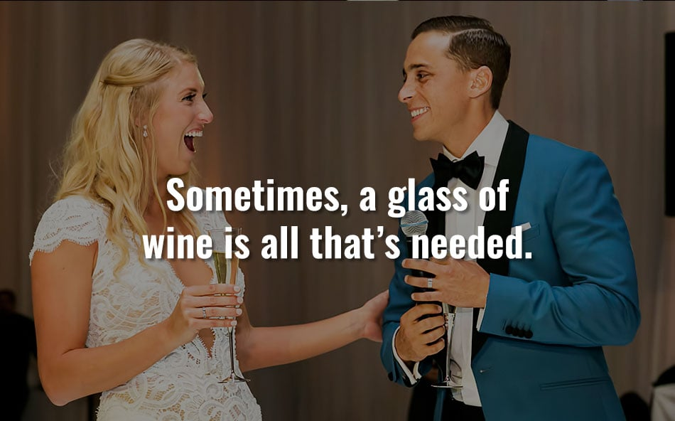 Glass Wine Couple