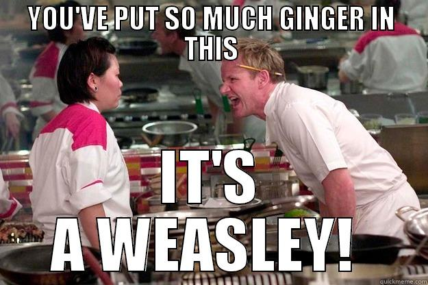 Gordon Ramsay Too Much Ginger