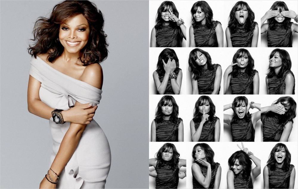 Janet Jackson Photo Booth