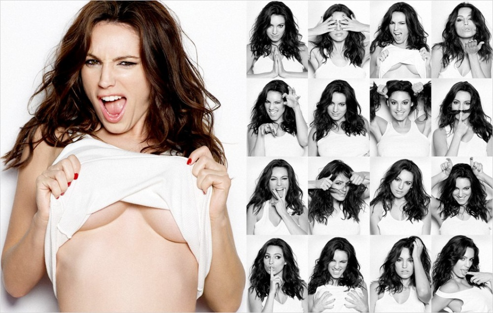 Kelly Brook Photo Booth