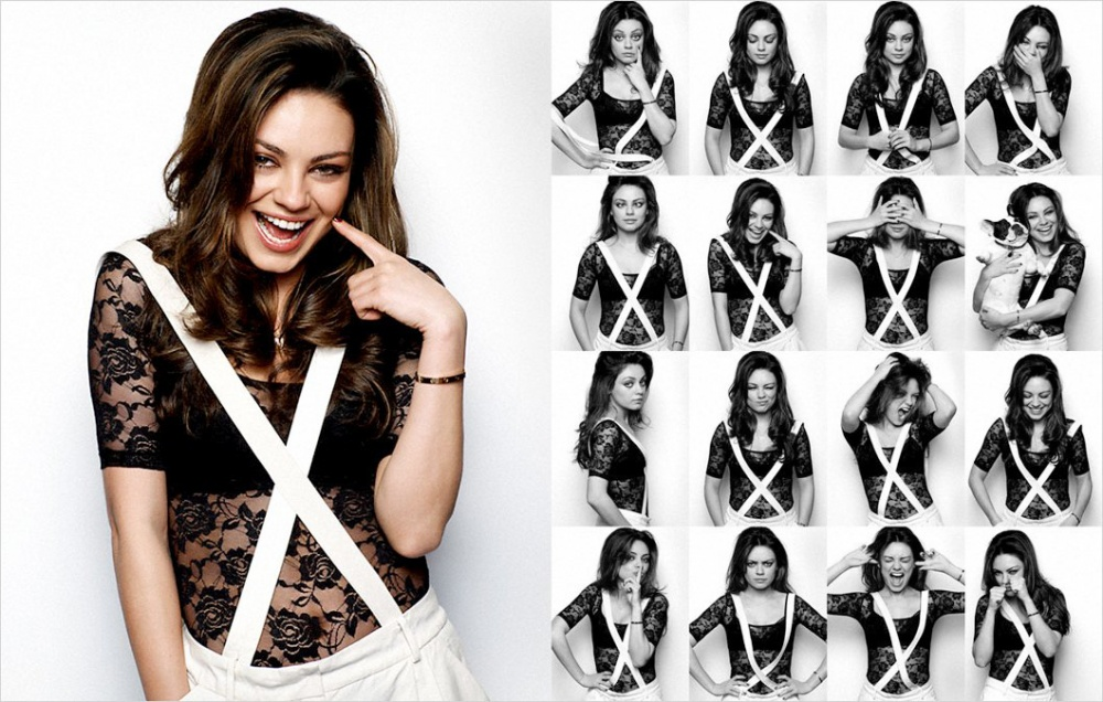 Mila Kunis Photo Booth