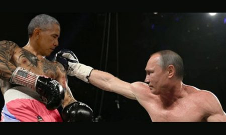 Oboma Versus Putin Post