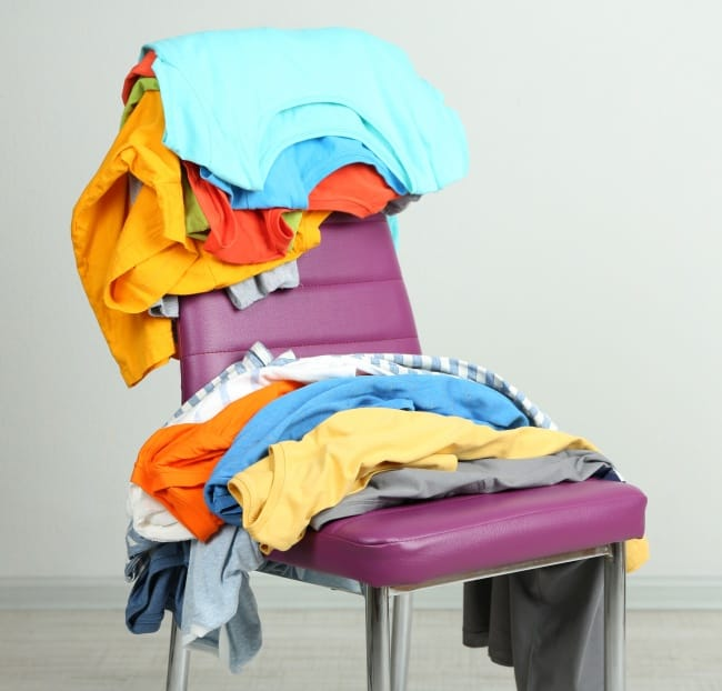 Organize Your Clothes Chair