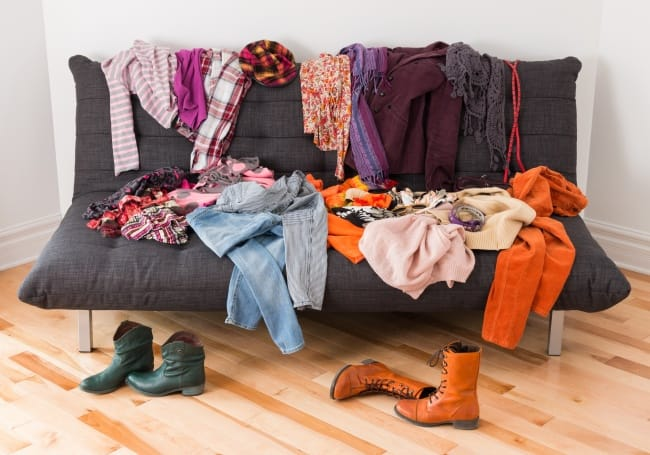 Organize Your Clothes From The Couch