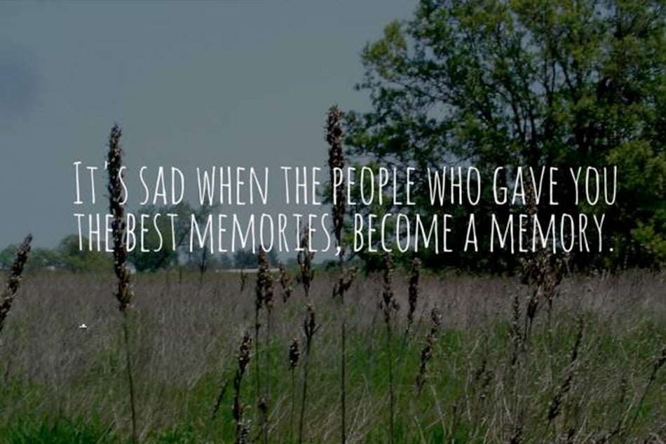 People Become Memory