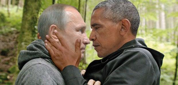 Putin Obama Stare Fight 01