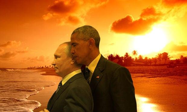 Putin Obama Stare Fight 02