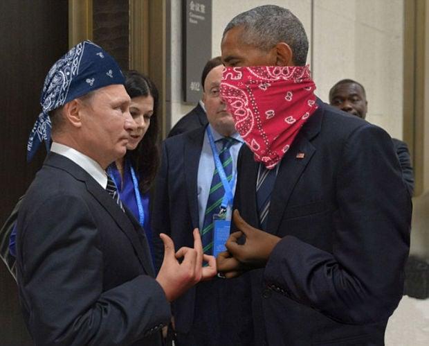 Putin Obama Stare Fight 03