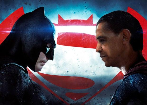 Putin Obama Stare Fight 10