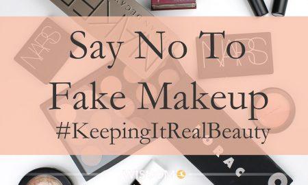 Say No Fake Makeup