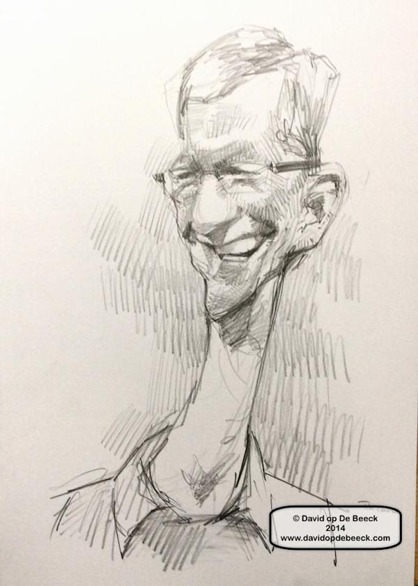 Tim Cook Caricature