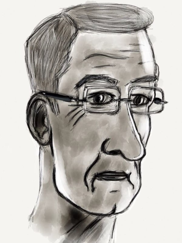 Tim Cook Drawing