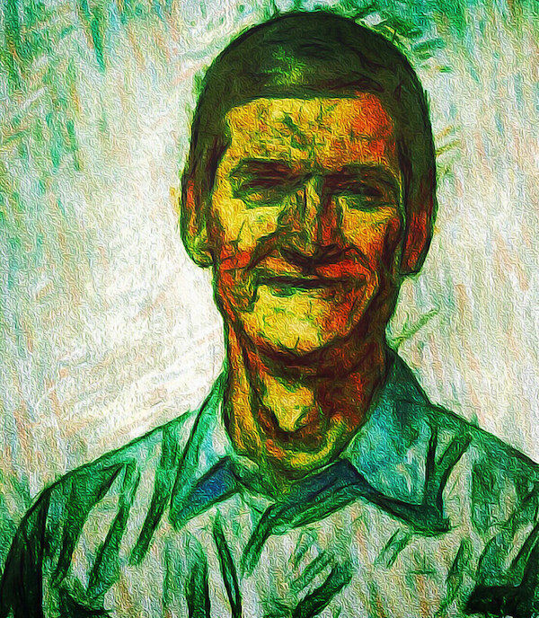 Tim Cook Green Drawing