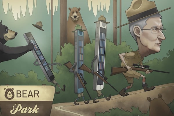 Tim Cook Investing Bear Park