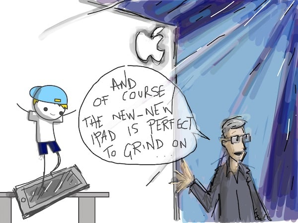 Tim Cook Ipad Grind