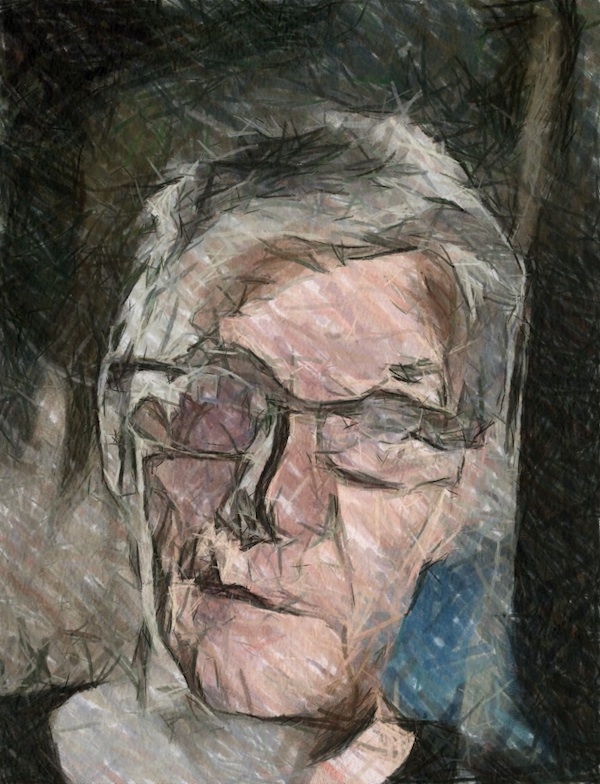 Tim Cook Oil Drawing