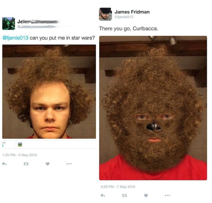 20 Photoshop Chewbacca