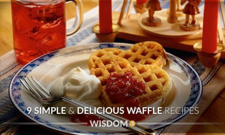 9 Delicious Waffle Recipes Cover