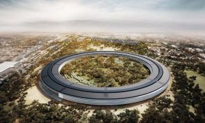 Apple Campus Concept Art To
