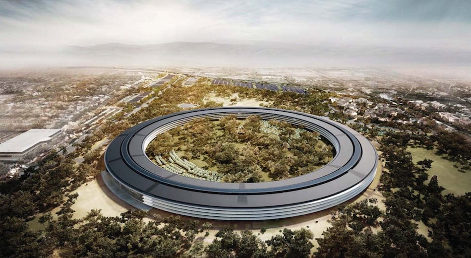 Apple Campus Concept Art To