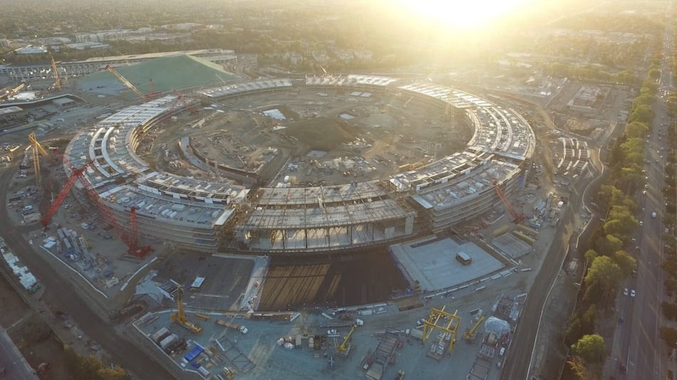 Apple Campus Construction Status 2