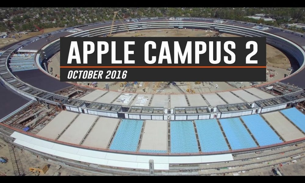 Apple Campus October 2016 Video