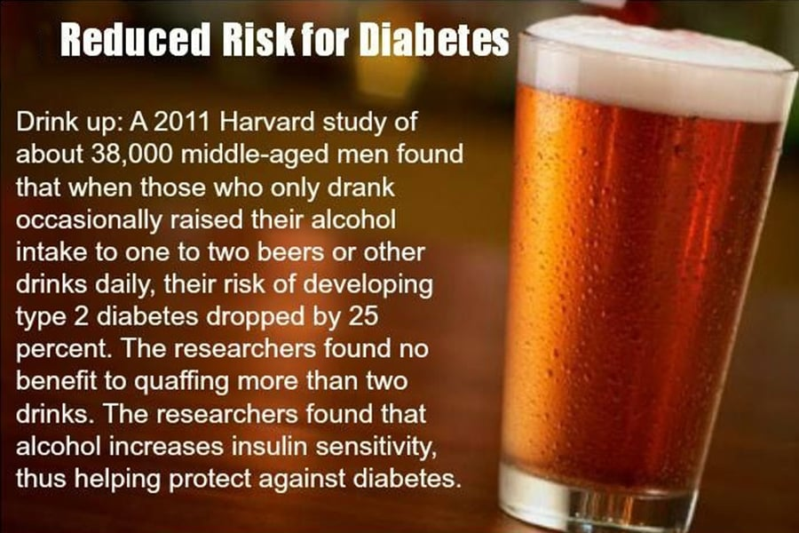 Beer Diabetes Risk