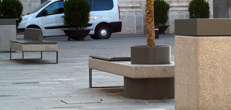 Bench With Tree Guard