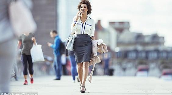 Real Woman Walking