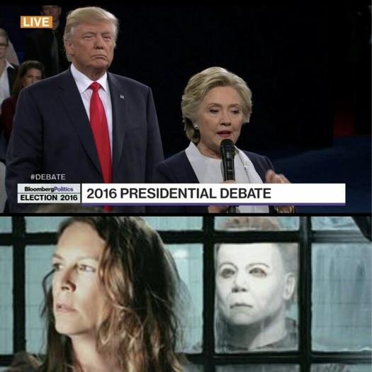 Trump Hillary Alien
