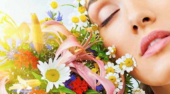 Woman Feminine Flowers