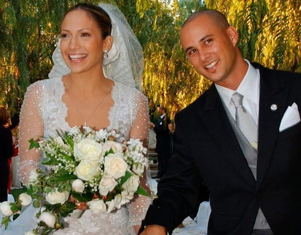 Jennifer Lopez And Cris Judd Wedding
