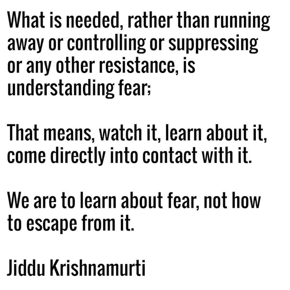 Learn About Fear