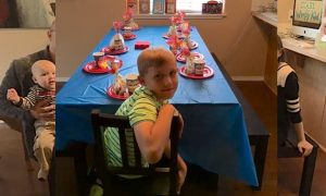 Mahlon Birthday Party Main