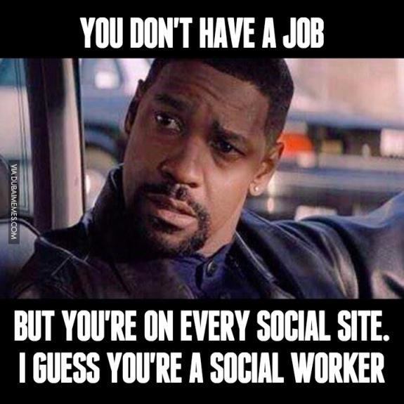 Social worker meme