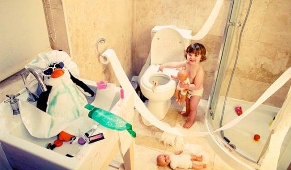 Toddler Bathroom Fun