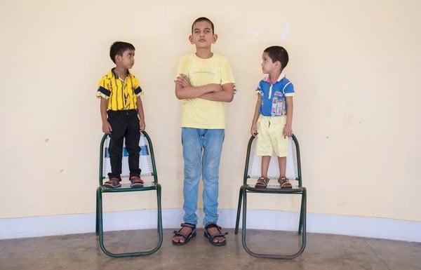 Worlds Tallest 5 Year Boy
